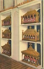 Trappist Kentucky~Our Lady of Gethsemani~Shrine of Reliquaries~1946 Postcard
