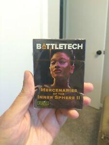 Battletech Mercenaries of the Inner Sphere II Kickstarter Reward Pilot Cards