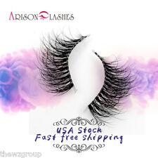 Arison 3D Mink Natural False Eyelashes Invisible Clear Band TD04 Reusable Lashes