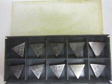 (10) NIB Iscar TPG 432 IC20 Carbide Inserts