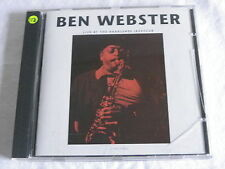 CD Jazz Ben Webster - Live At the Haarlemse Jazzclub (6 Song) LIMETREE
