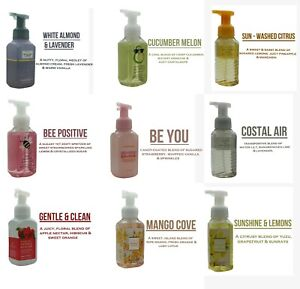 Bath And Body Works Gentle Foaming Hand Soaps - New Updated Stock 2021