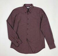 Gino giusti camicia uomo usato XXL  45 quadri man shirt used manica lunga T5774