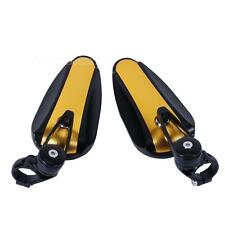 """CNC Motorcycle 7/8"""" Handle Bar End Rear Mirrors For Ducati Monster Sport Bikes"""