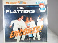 1960'S LP RECORD THE PLATTERS ENCORES! SRW-16112 VG+ cover NM Shrink