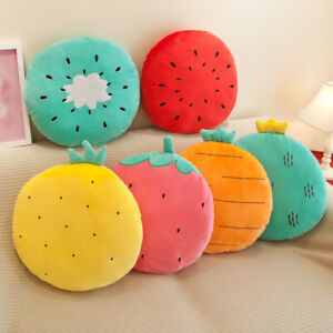 New Fruit Pp Cotton Filled Cartoon Cushion Plush Toy Pillow Girl Birthday Gift