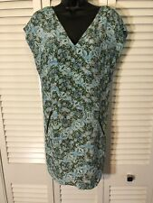 anthropologie maeve Turquoise Snake Dress 4