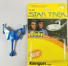 VINTAGE STAR TREK DINKY TOY KLINGON CRUISER NO 804 1979 45A