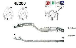 Catalizador BMW 325i Coupe 2494 cc 141 Kw / 192 cv M50 E36 10/90>