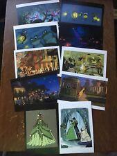 10 The Art Of Disney Renaissance Beyond 1989-2014 Postcards 2009 Princess & Frog