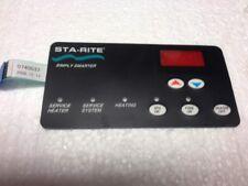 Pentair 42002-0029Z Keypad Membrane For Sta-Rite Max-E-Therm