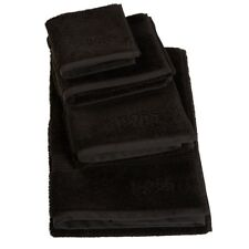 Hugo Boss Loft Bath Towel, Black - Set of 2