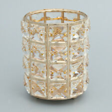 Candle Holders Candlesticks for Dining Room Wedding Centerpieces-Golden