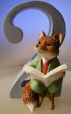 "BEATRIX POTTER ""FOXY WHISKERED GENTLEMAN AGE 2 FIGURINE"" MINT IN BOX A6215"