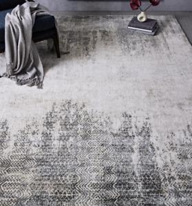 John Lewis & Partners PHARAOH Platinum Rug - 152cm x 244cm ***RRP £499***