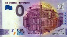Null Euro Schein - 0 Euro Schein - Die Weberei - Gütersloh 2021-1
