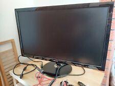 """ASUS VS248HR 24"""" Pantalla ancha Monitor de Juegos Hd Led Hdmi Cable todos los contactos y caja"""