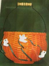 Basket Weaving Pattern Glow in the Dark Basket by Eileen Mirsberger