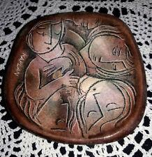 SAUL KAPLAN pottery glazed ceramic trinket dish