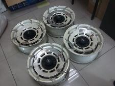 "JDM 15"" Manaray Turbina S rims wheels AE86 Hachiroku volk turbo fan RARE"