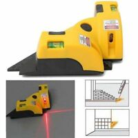 90 Degree Vertical Horizontal Laser Line Right Angle Projection Square Level New