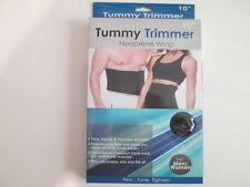 Adjustable Men Women Waist Tummy Tuck Trimmer Slimming Nylon Neoprene Wrap Belt