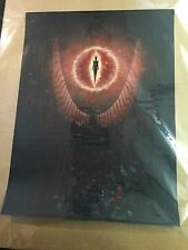 Lord of the Rings Screen Print Approx 18 x 24 In. LE. Hero Complex Gallery Rare