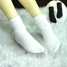 White/Black Socks Stockings for 1/6 1/4 1/3 Uncle AOD AF AE DZ BJD Doll Dollfie