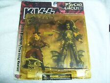 "Kiss Psycho Circus Gene Simmons""The Ring Master Action Figure Set 1998 New"
