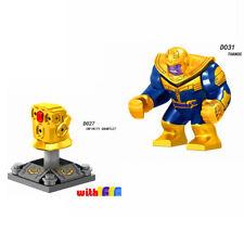 Single marvel Super Heroes Avengers Infinity War Thanos Iron Lego Marvel Super