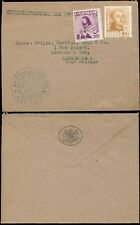 SPAIN 1948 BRITISH CONSULATE ENVELOPE OFFICIAL to LINCOLNS INN LONDON...BILBAO