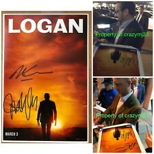 James Mangold Michael Green Signed Logan Poster Autograph Wolverine Exact Proof