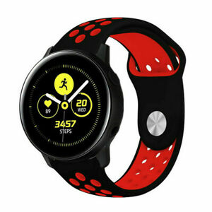 Silicone Sport Watch Band Strap For Samsung Galaxy Watch 4 40 44mm Classic 42 46