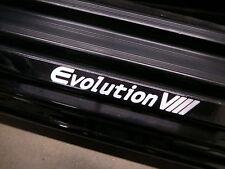 (2pcs) EVOLUTION VIII doorstep badge decal MITSUBISHI EVO 8