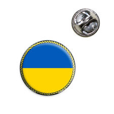 Flag of Ukraine Lapel Hat Tie Pin Tack