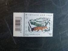 2012 AUSTRIA WILD ANIMALS AND HUNTING FOX MINT STAMP MNH