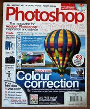 Photoshop Creative, issue 38, color correction, excellent, no Cd, Usa seller