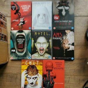 American Horror Story Season 1-8 DVD Box sets (2 3 4 5 6 7) Series - Lady Gaga