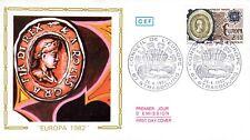 2208+ FDC  ENVELOPPE 1er JOUR CEF   EUROPA  1982