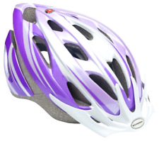 Sports Outdoor Bicycle Youth Adult Cycling Protect Helmet Safe Ride Purple White