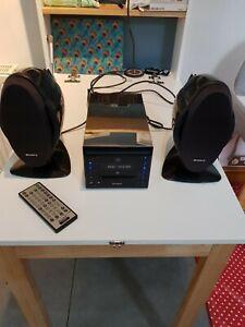 Sony CMT-C5 Micro Hi-Fi MDLP Mini Disc CD System
