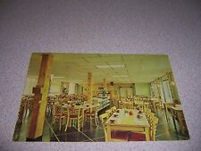 1964 DINING ROOM at LOST LAKE WOODS CLUB LINCOLN MICHIGAN MI. VTG POSTCARD