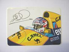 ADESIVO AUTO F1 anni '80 / Old Sticker NIGEL MANSELL RENAULT CAMEL (cm 10x7)