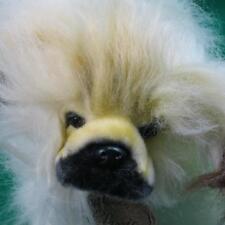 High-Quality Handmade Aurora Quite Brown Pekingese Puppy Dog Stuffed Plush toy