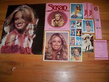 Susan Anton 1979  Fan Club Kit  Poster-Photos-Folder     farrah