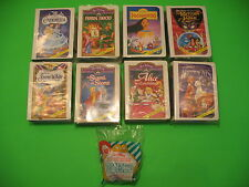 1996 McDonalds - Disney Masterpiece Collection set of 8 + U3 *MIP*