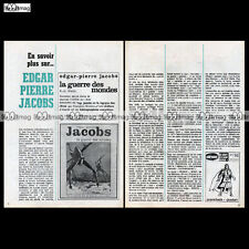 EDGAR PIERRE JACOBS La guerre des mondes (No Blake & Mortimer) Article 70's #657