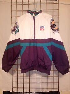 VINTAGE 1994 STARTER SUPER BOWL (28) XXVIII JACKET Dallas Cowboys Buffalo Bills