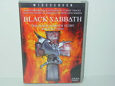 "*****DVD-BLACK SABBATH""THE BLACK SABBATH STORY VOLUME TWO""-2002 Sanctuary*****"