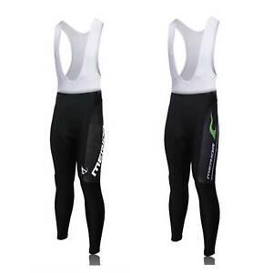 Merida Men's Cycling Bib Tights Lycra Padded Cycle Bib Trousers Pants S-5XL